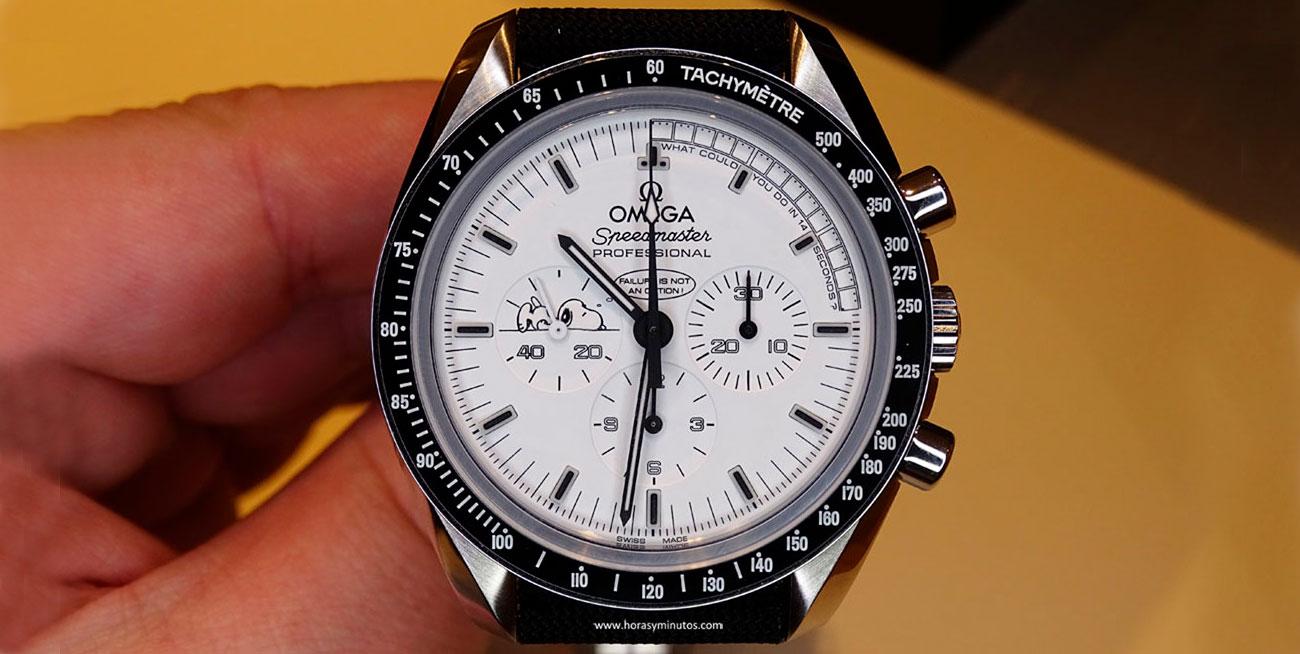 Omega Speedmaster Apolo XIII Silver Snoopy Award