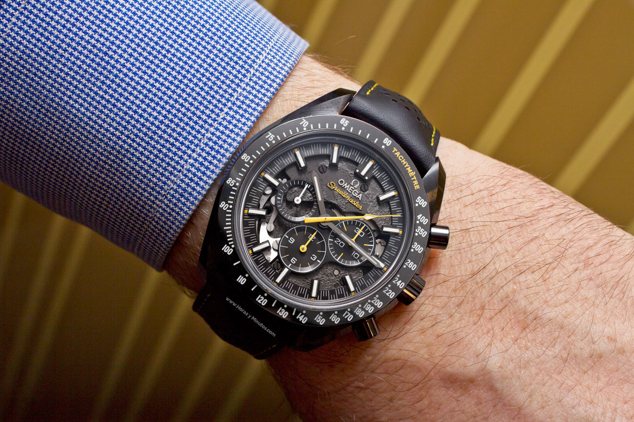 Omega Speedmaster Dark Side of the Moon Apollo 8 50th Anniversary