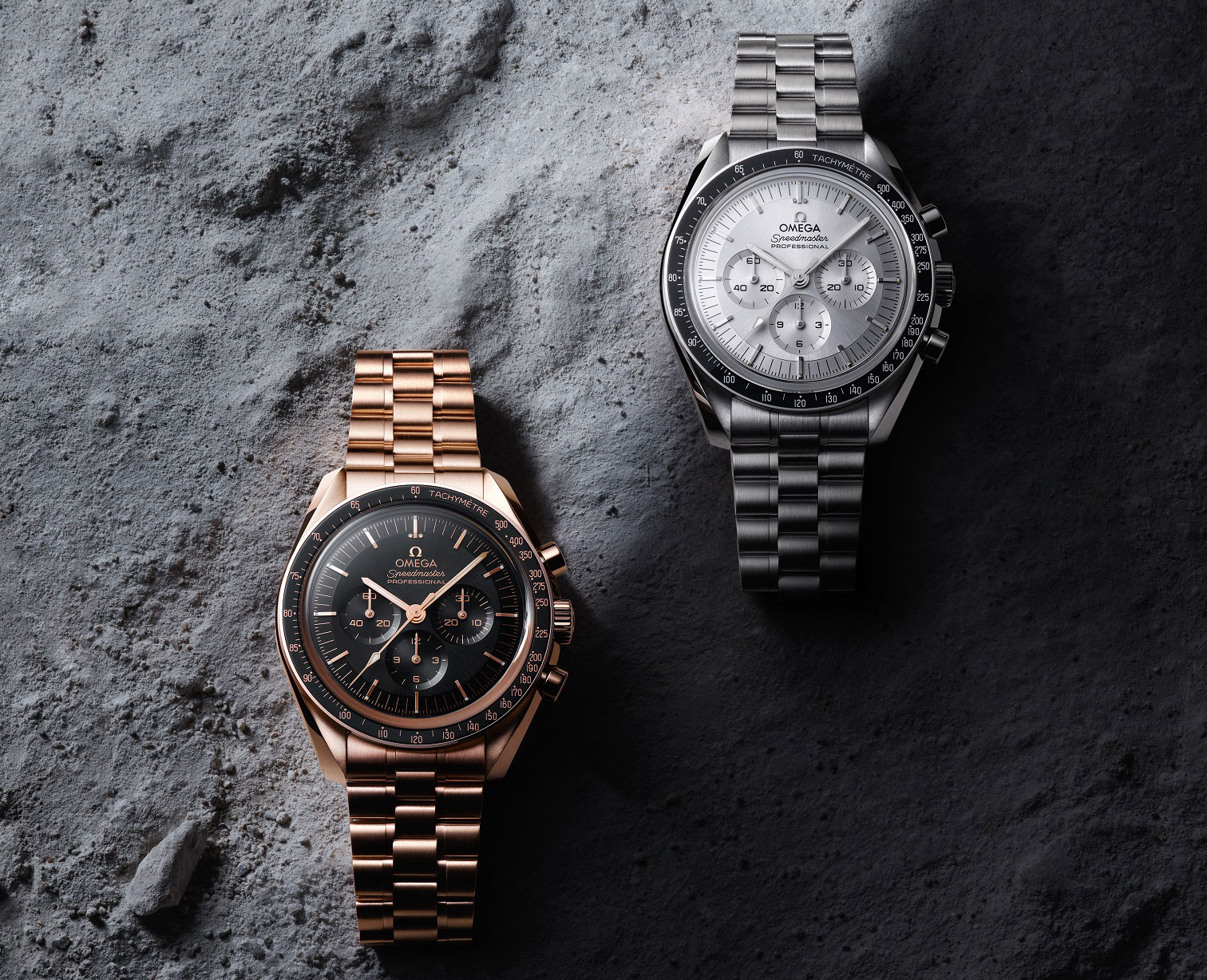 Omega Speedmaster Moonwatch 2021 Oro Sedna y Oro Canopus