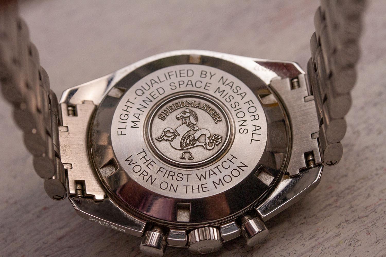 Fondo del Omega Speedmaster Moonwatch