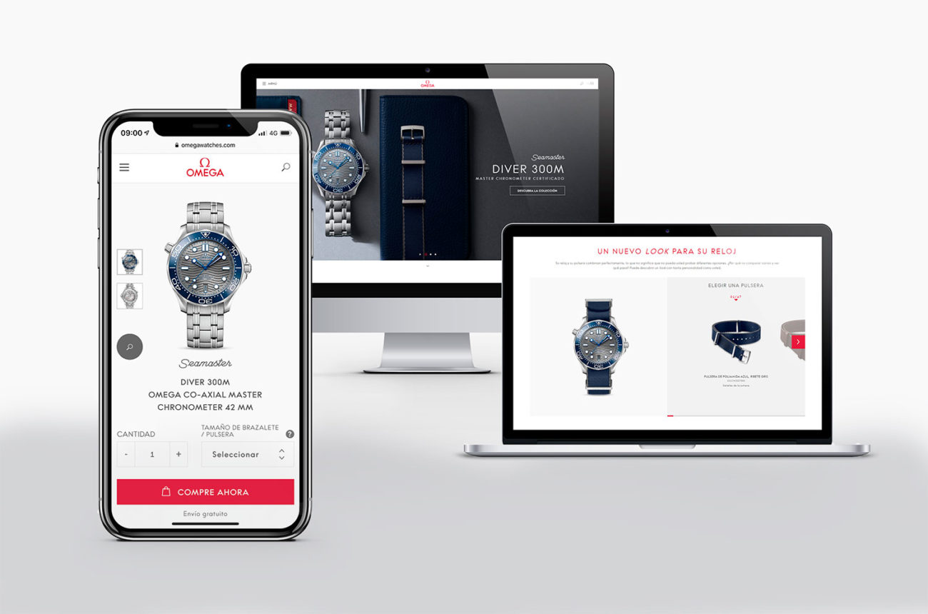 Omega Tienda online