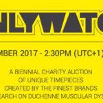 Casi 9,3 millones de Euros recaudados en la subasta Only Watch 2017