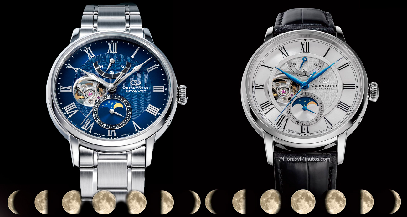 Orient Star Mechanical Moon Phase portada