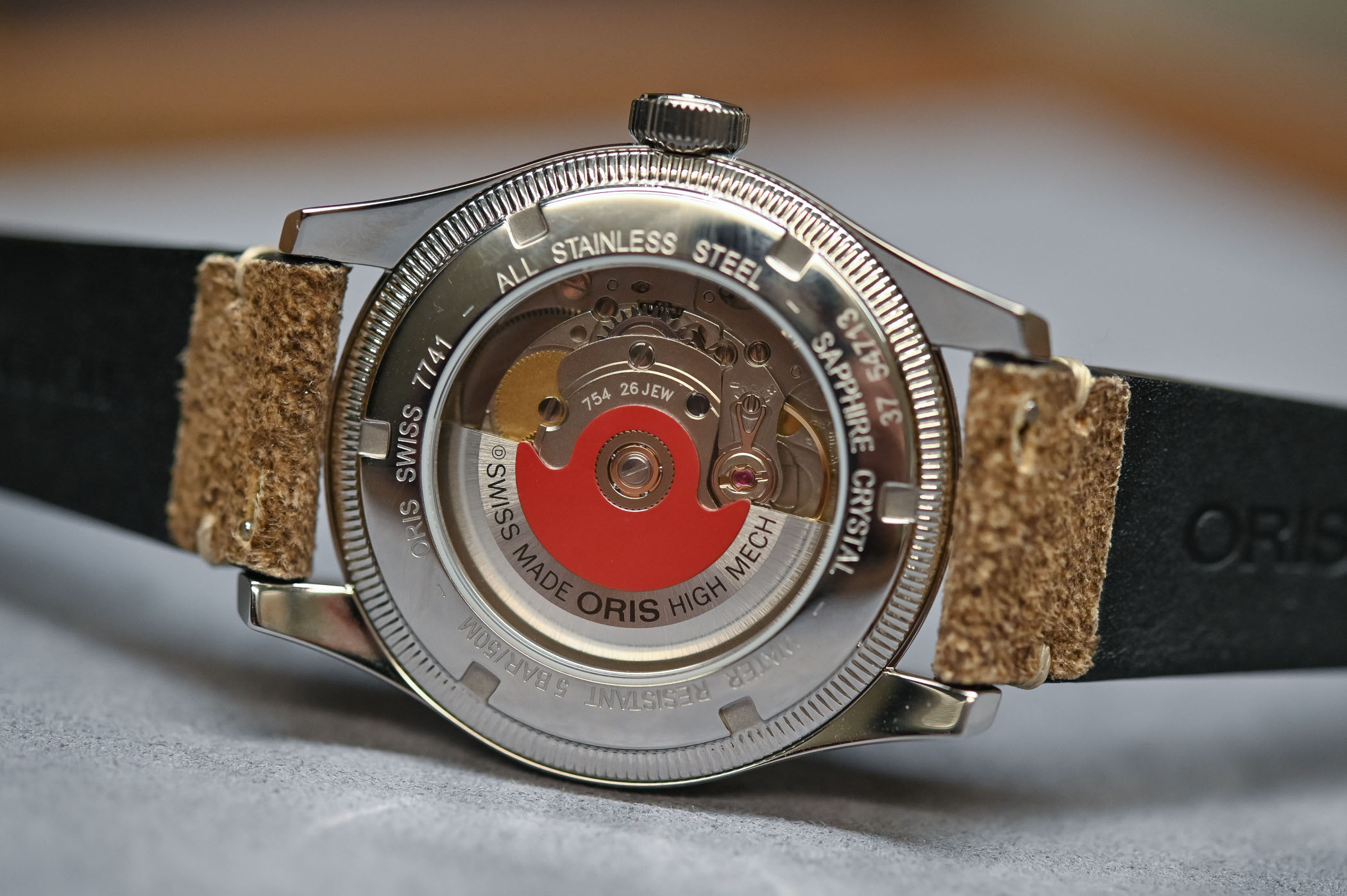 Calibre del Oris Big Crown Pointer Date 40mm