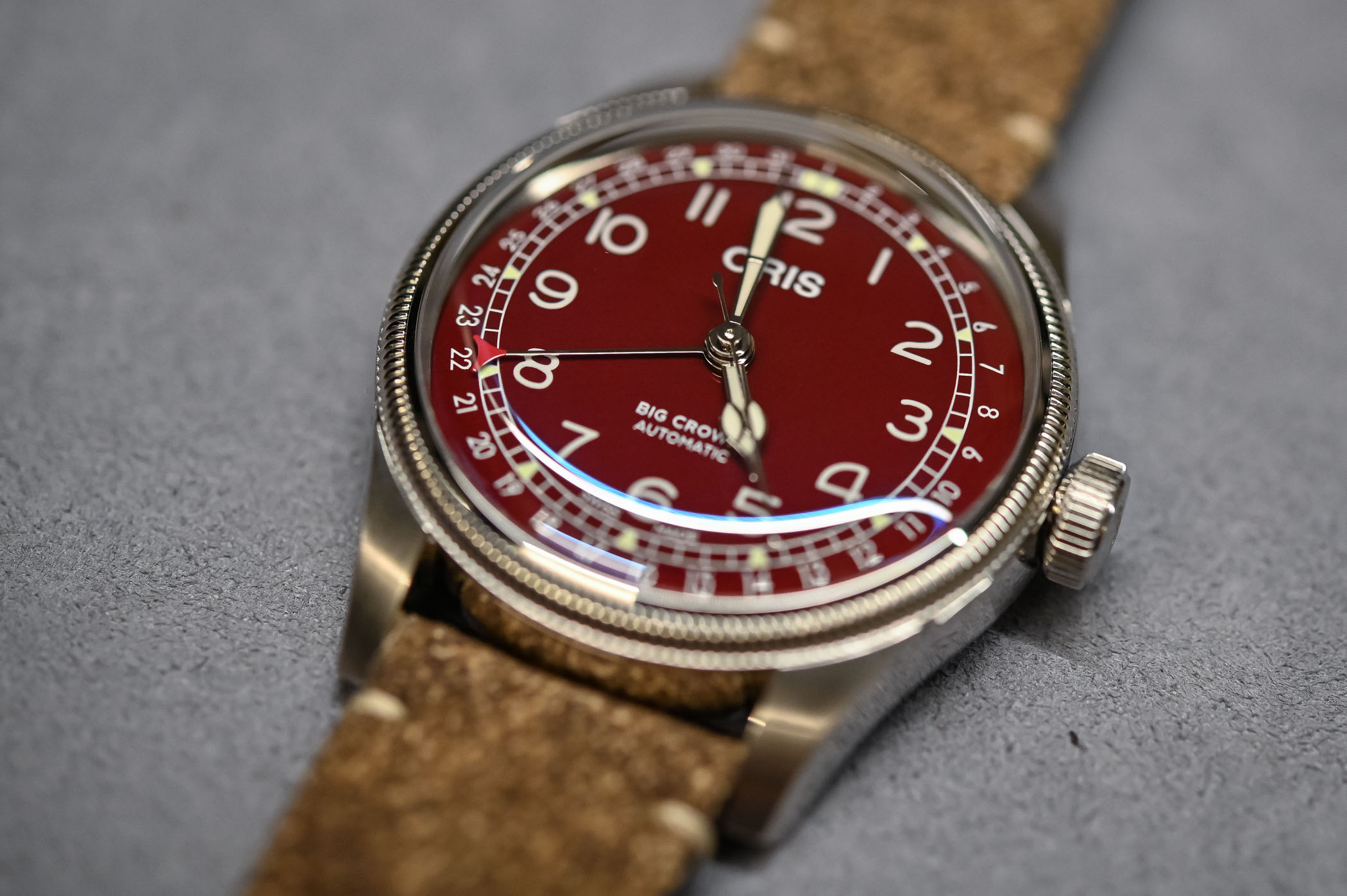 Oris Big Crown Pointer Date 40mm perfil
