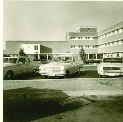 Hospital de la base de Torrejón de Ardoz en Madrid en los años 60