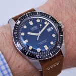 En la muñeca: Oris Divers Sixty-Five 42 mm