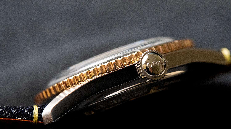 anillo de bronce del Oris x Momotaro