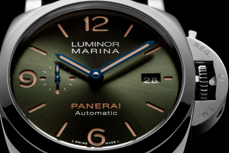 Esfera del Panerai Platinumtech Luminor Marina