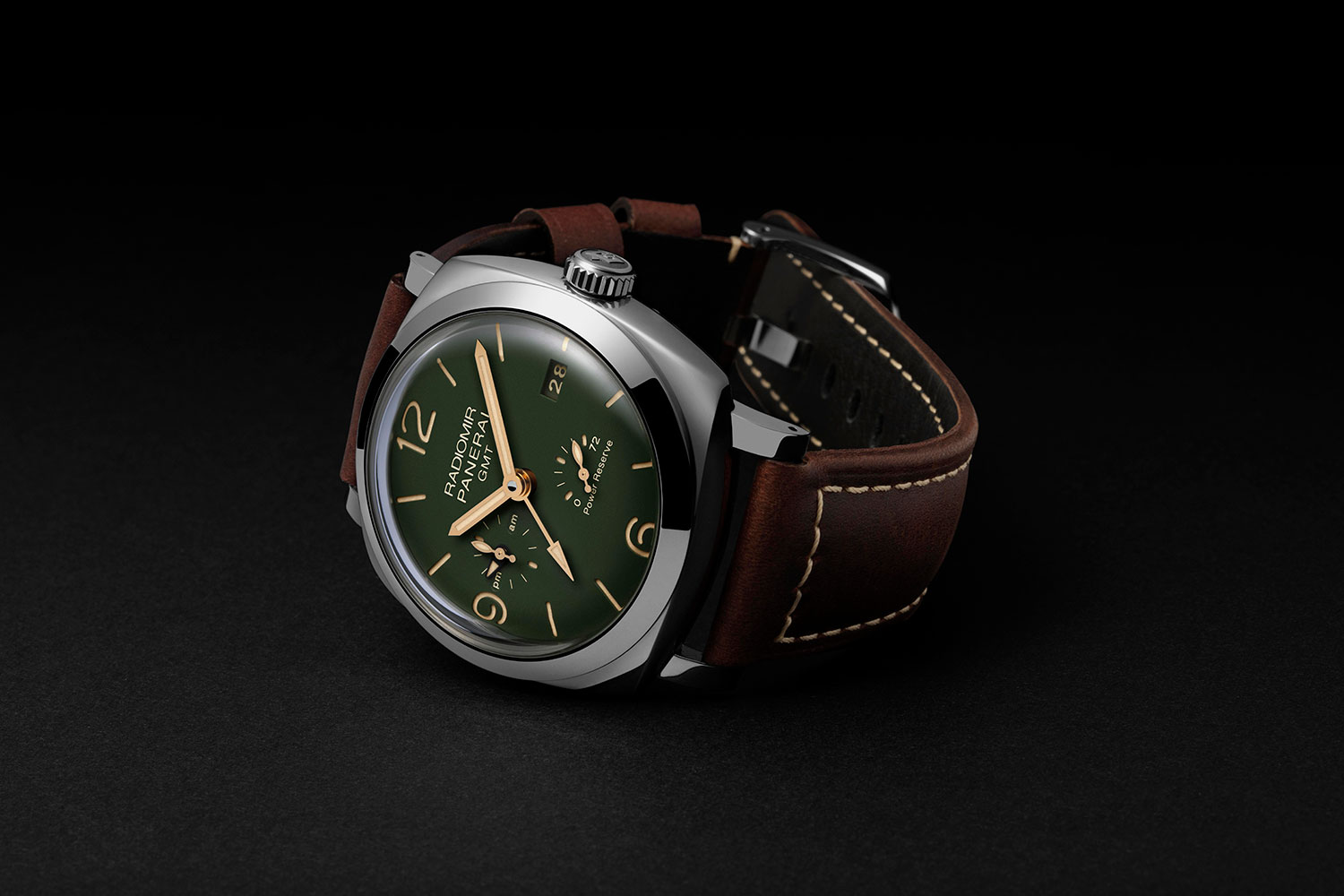 Panerai Radiomir 1940 Green Dial GMT Power Reserve 45 mm