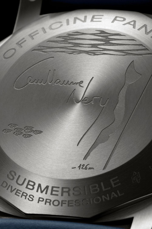 Panerai Submersible Chrono Guillaume Néry Edition