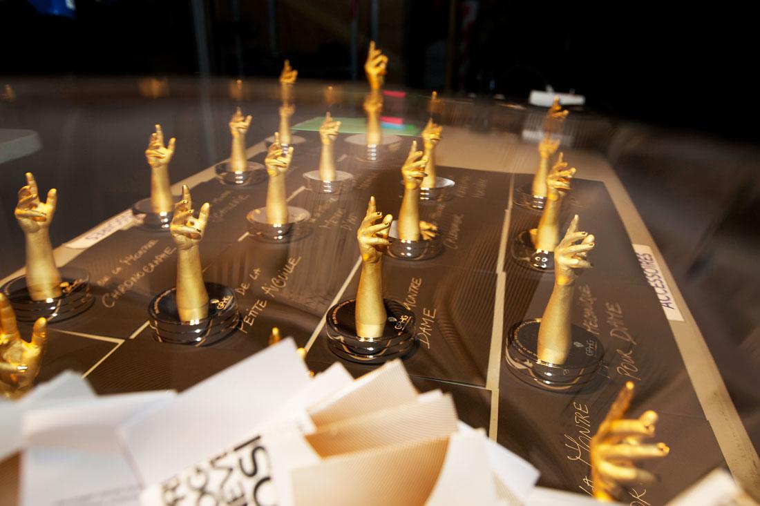 Las estatuillas de los premios