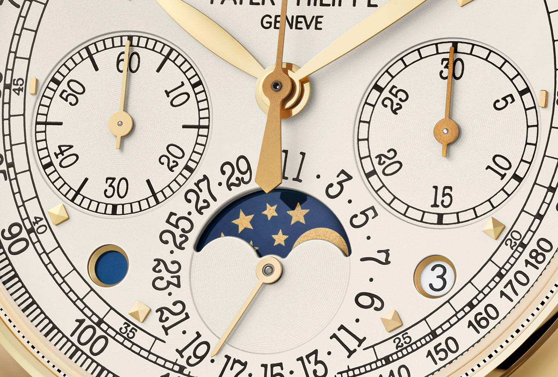 Subesferas del Patek Philippe Perpetual Calendar Chronograph