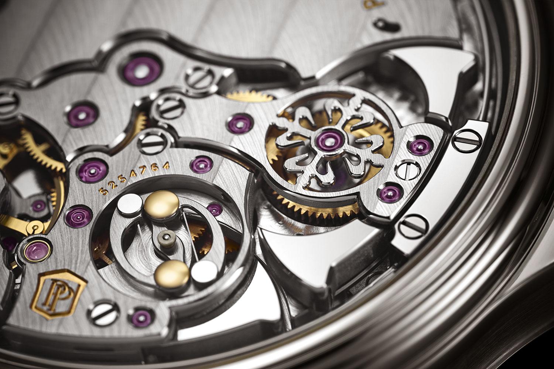 Detalle de los gongs del calibre del Patek Philippe 6301P Grande et Petite Sonnerie