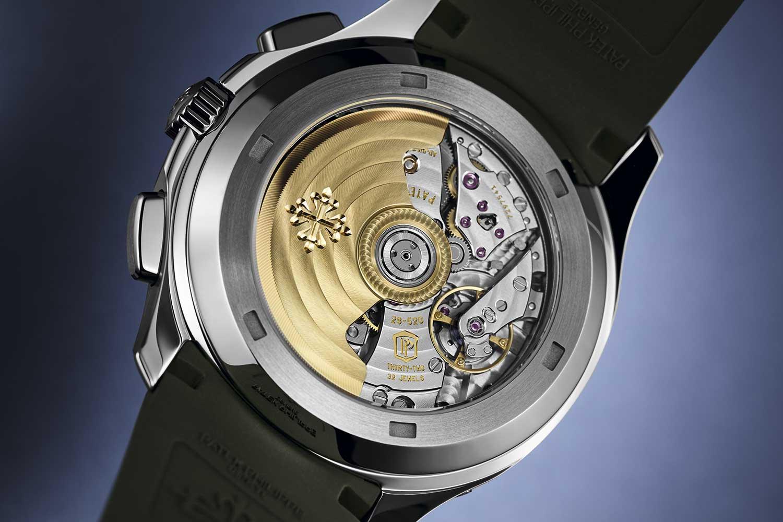 Calibre CH 28-520 C del Patek Philippe Aquanaut Chronograph 5968G