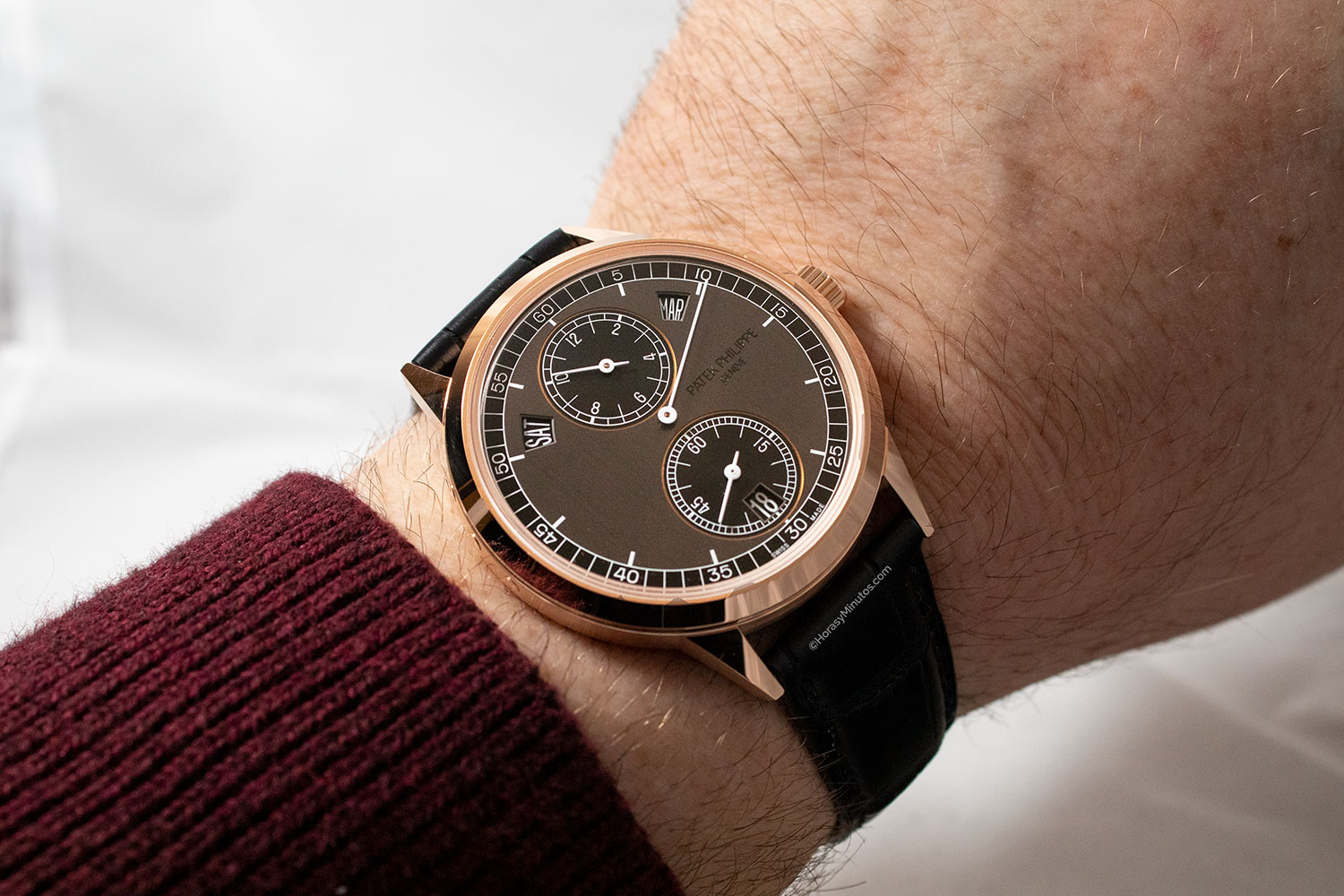 Patek Philippe Regulator Annual Calendar