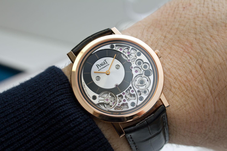 25436d9d6daa El nuevo Piaget Altiplano Ultimate 910P recupera el cetro para Piaget  es  el reloj automático más delgado del mundo. Un título que