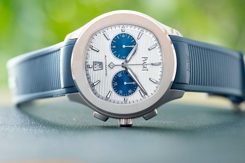 "Piaget Polo Chronograph ""Blue Panda"""