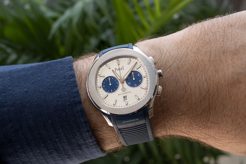 "Así queda el Piaget Polo Chronograph ""Blue Panda"""