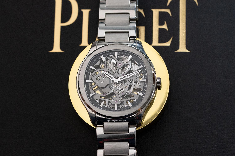 Piaget Polo Skeleton gris
