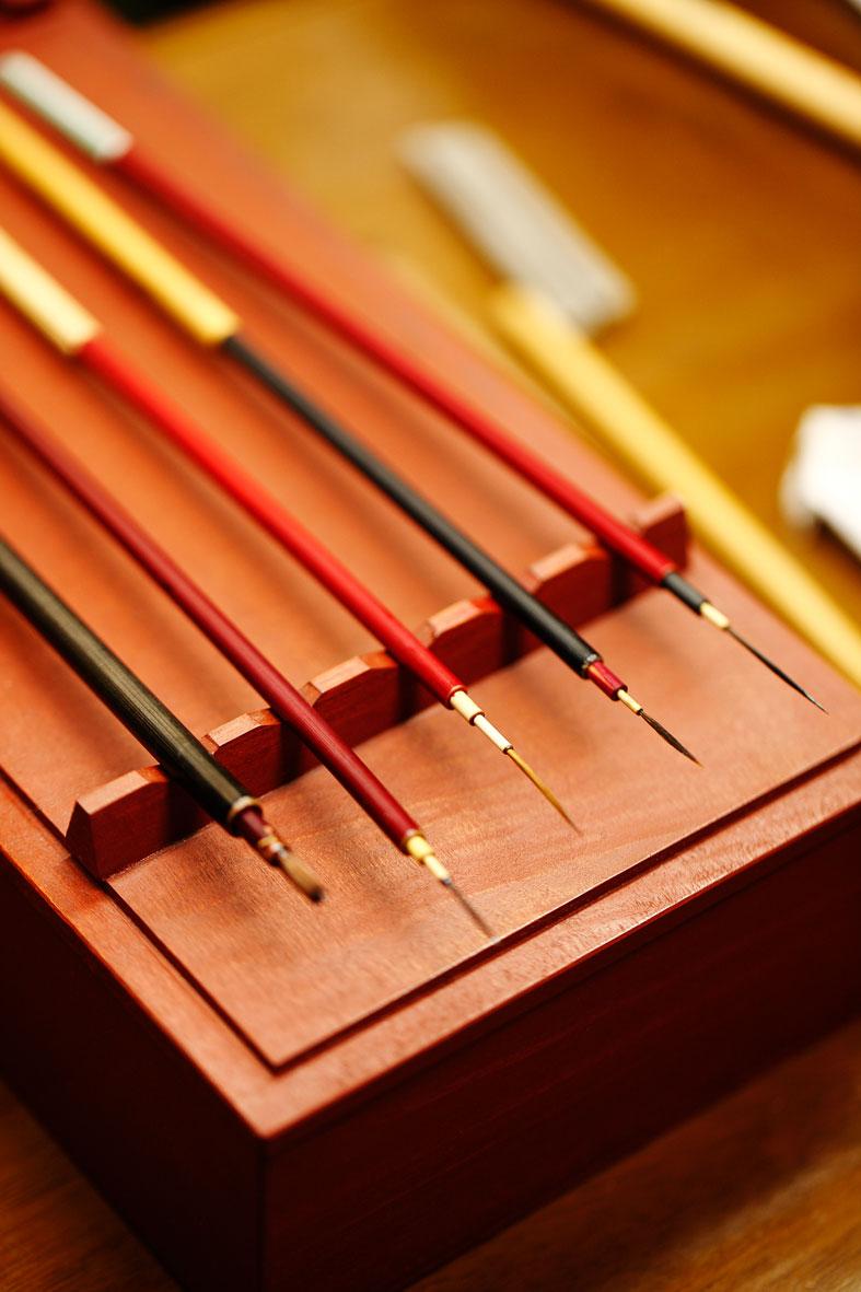 Pinceles de color