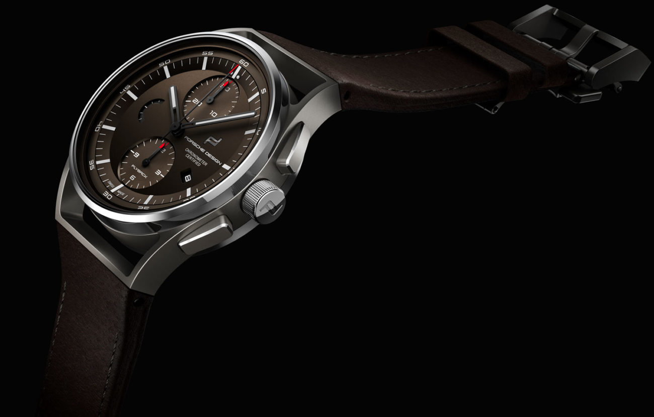 Porsche Design 1919 Chronotimer Flyback Brown Leather