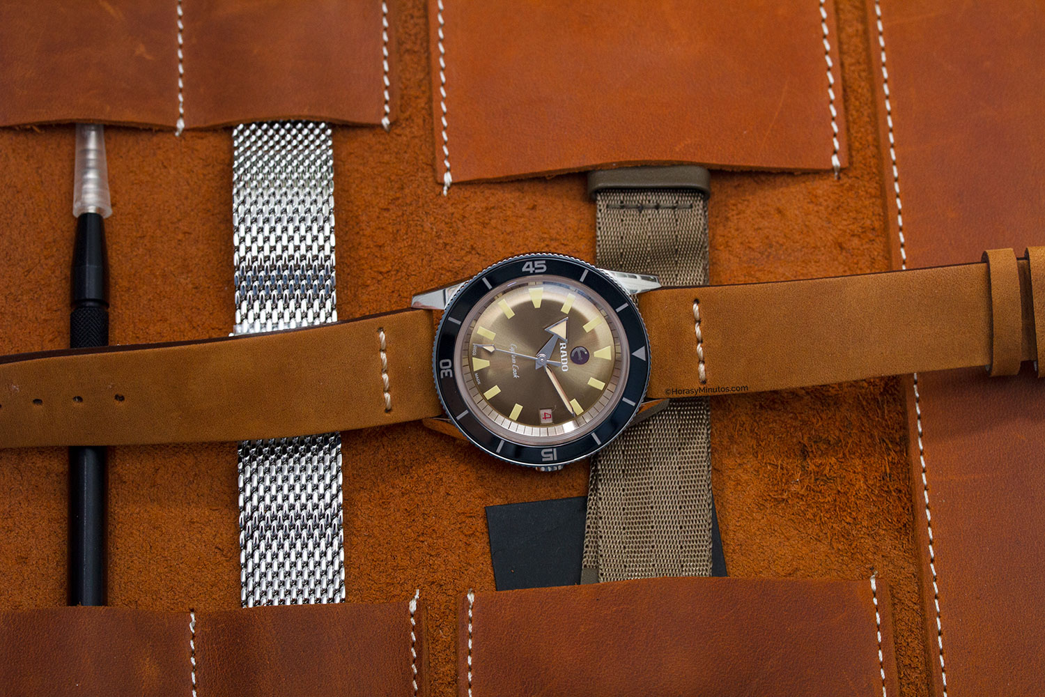 Estuche del Rado Captain Cook 37 mm Limited Edition