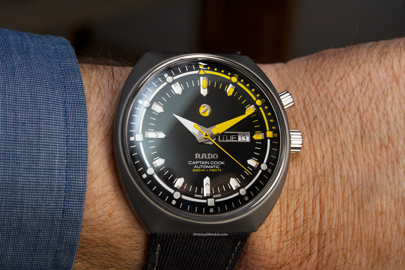 Rado Captain Cook Mark III
