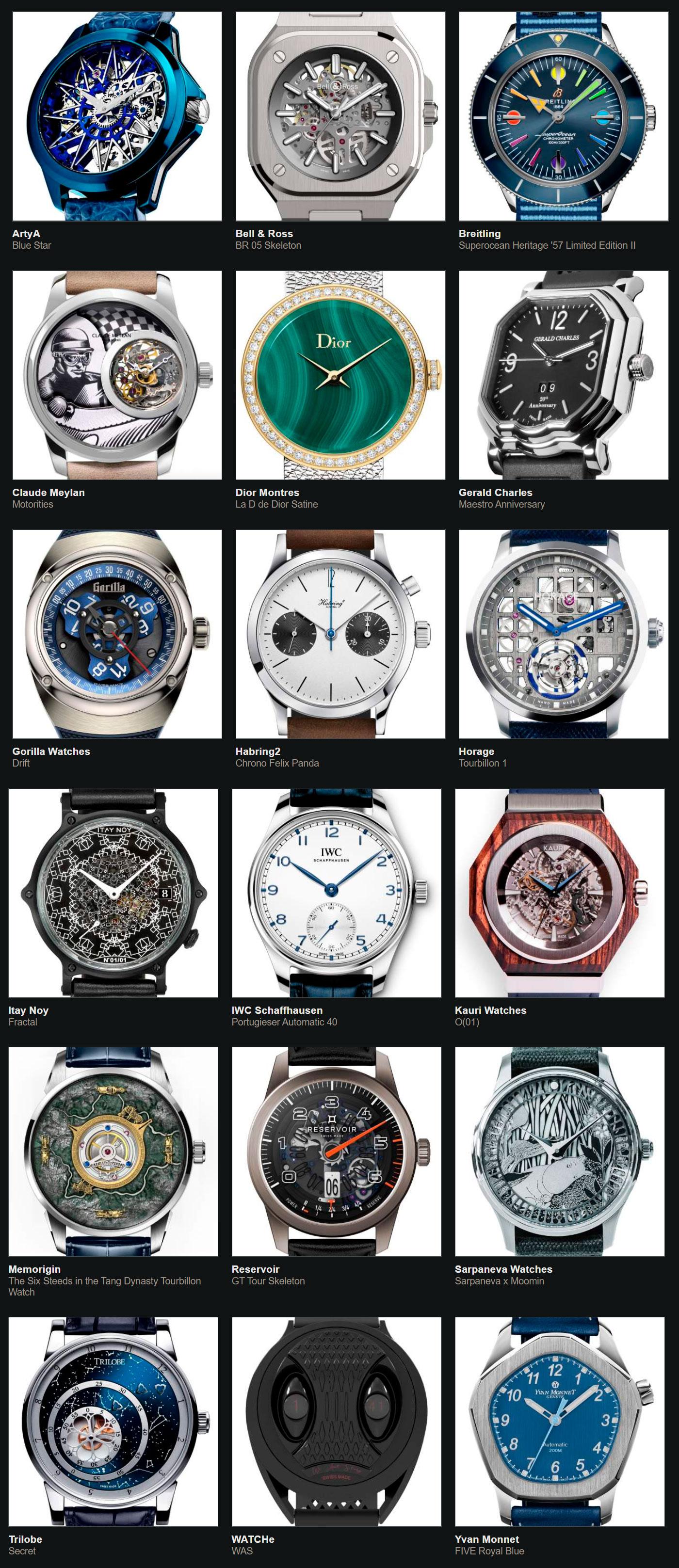 Relojes preseleccionados para el Gran Premio de Relojería de Ginebra 2020 Petit Aiguille