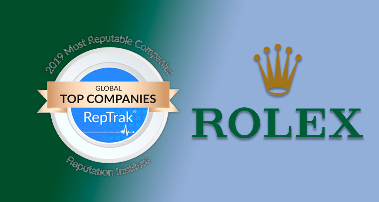 Rolex es la empresa con mejor reputación del mundo