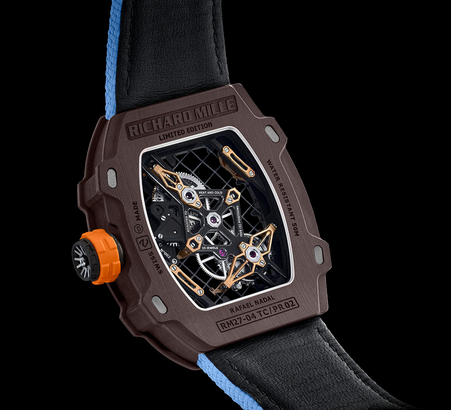 Trasera del Richard Mille RM 27-04