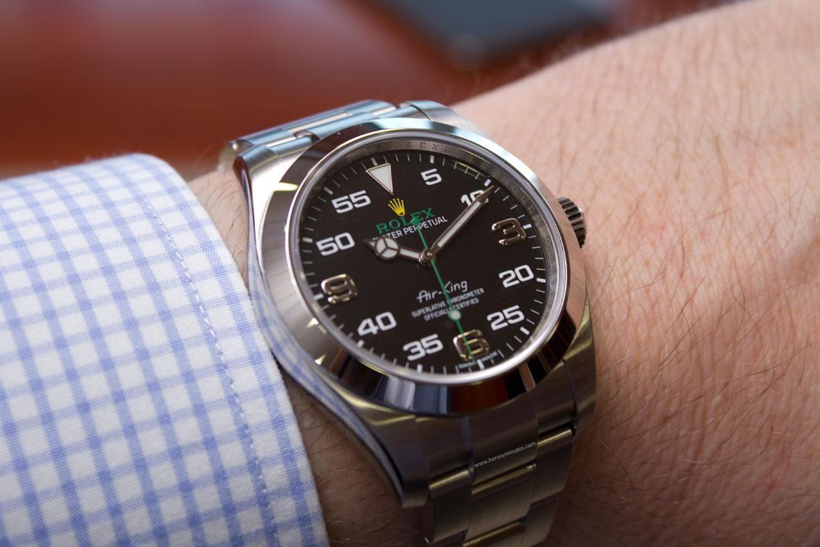 En la muñeca: nuevo Rolex Air King | Horas y Minutos