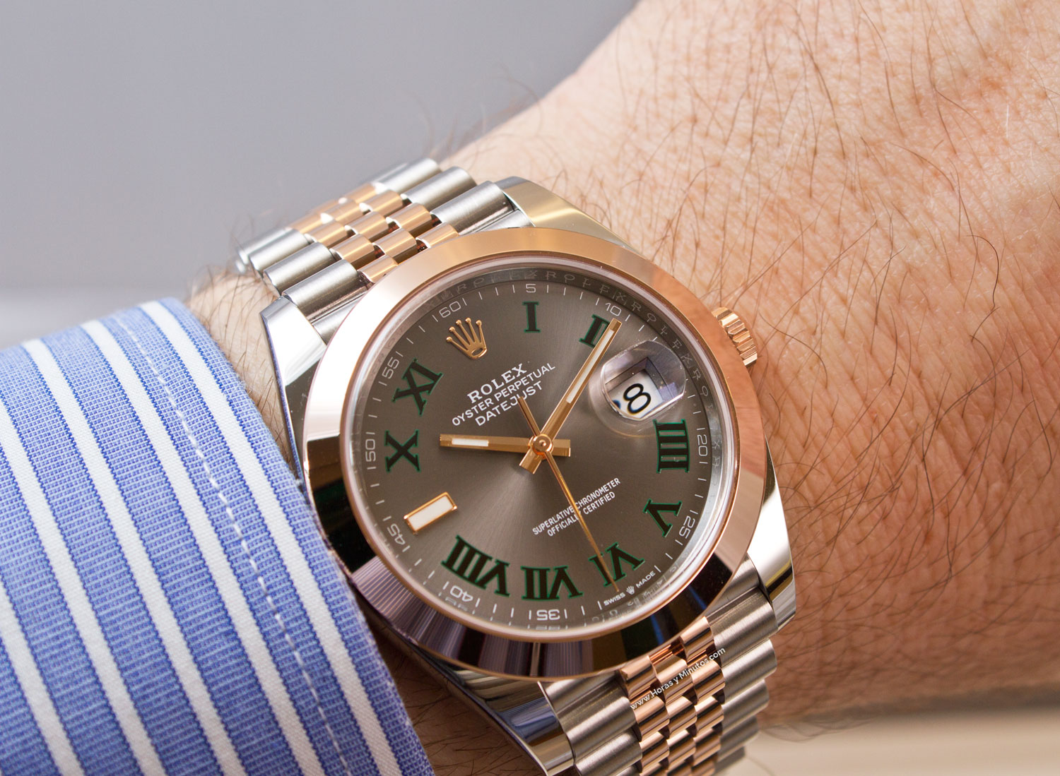 Rolex Datejust 41 mm Wimbledon