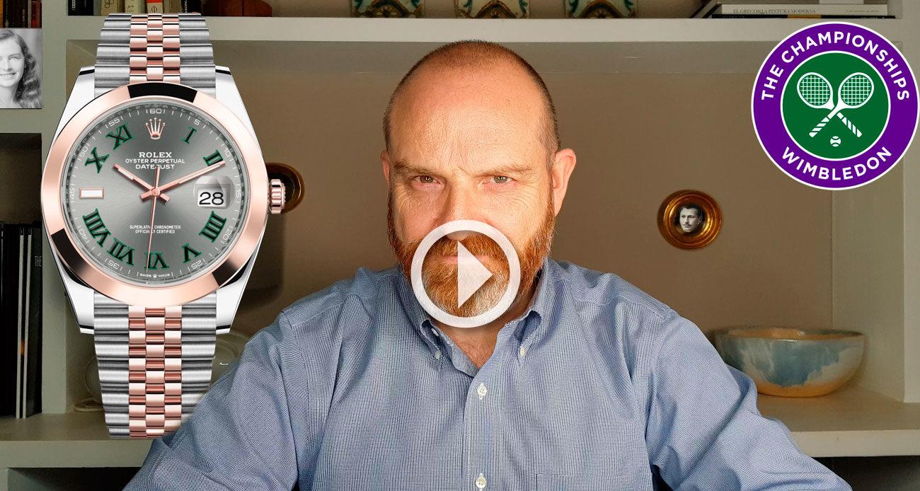 Rolex Datejust 41 mm Wimbledon