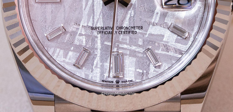 Rolex Day-Date 40 mm Meteorite Dial