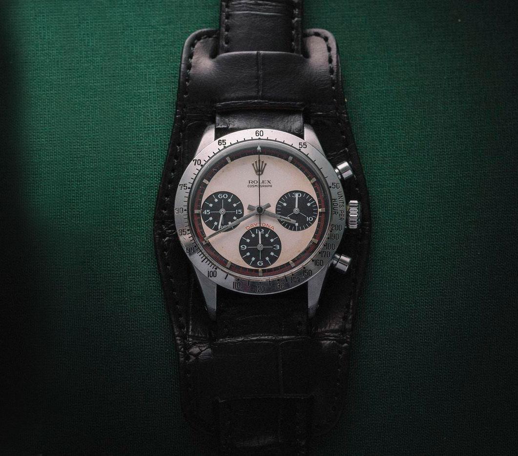 ab2499375307 Cuando un Rolex Daytona «Paul Newman» sale a la venta a muchos  coleccionistas se les eriza el vello y les recorre un escalofrío por la  espalda