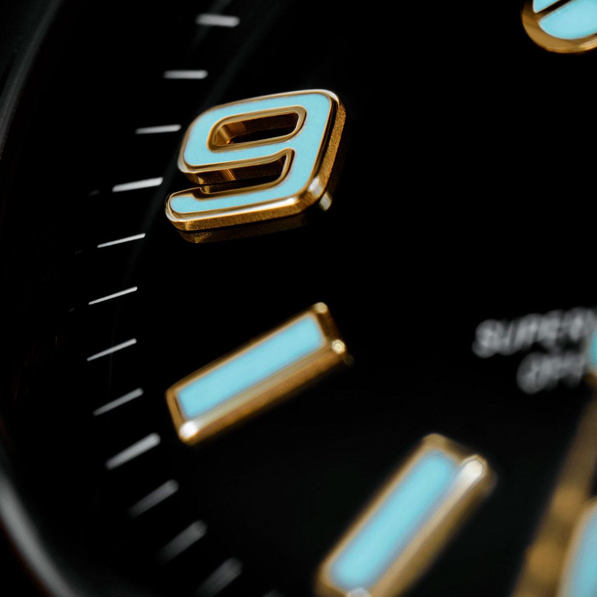 Chromalight en el Rolex Explorer