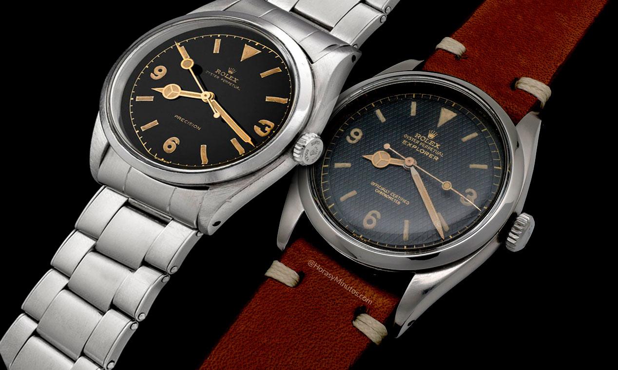 Rolex Explorer 6150 y 6350