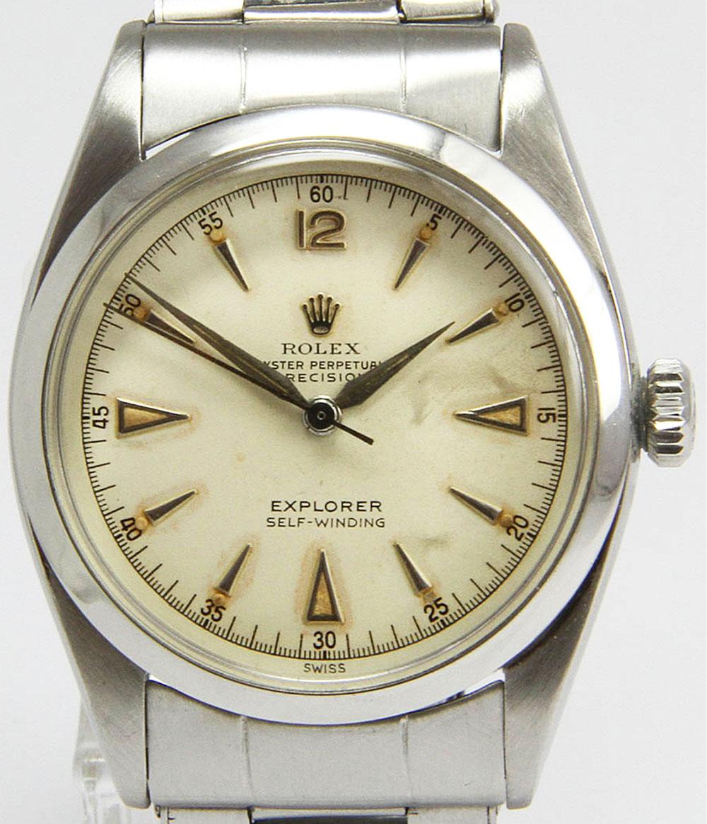 Rolex Explorer 6298 de 1953