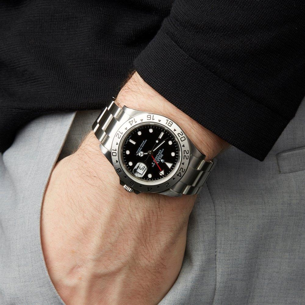 Rolex Explorer II 16570 negro