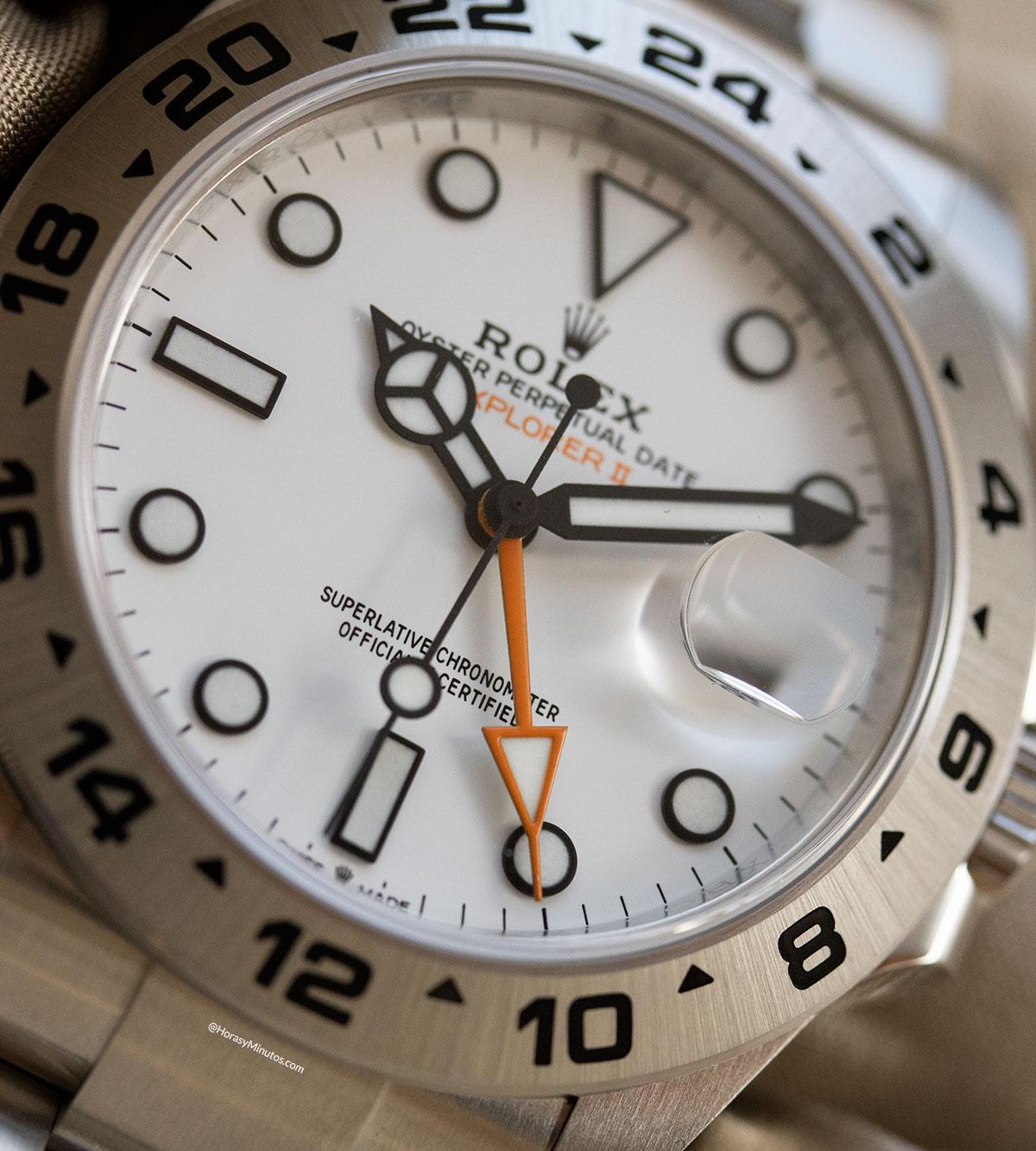 Detalle del Rolex Explorer II 226570 2021