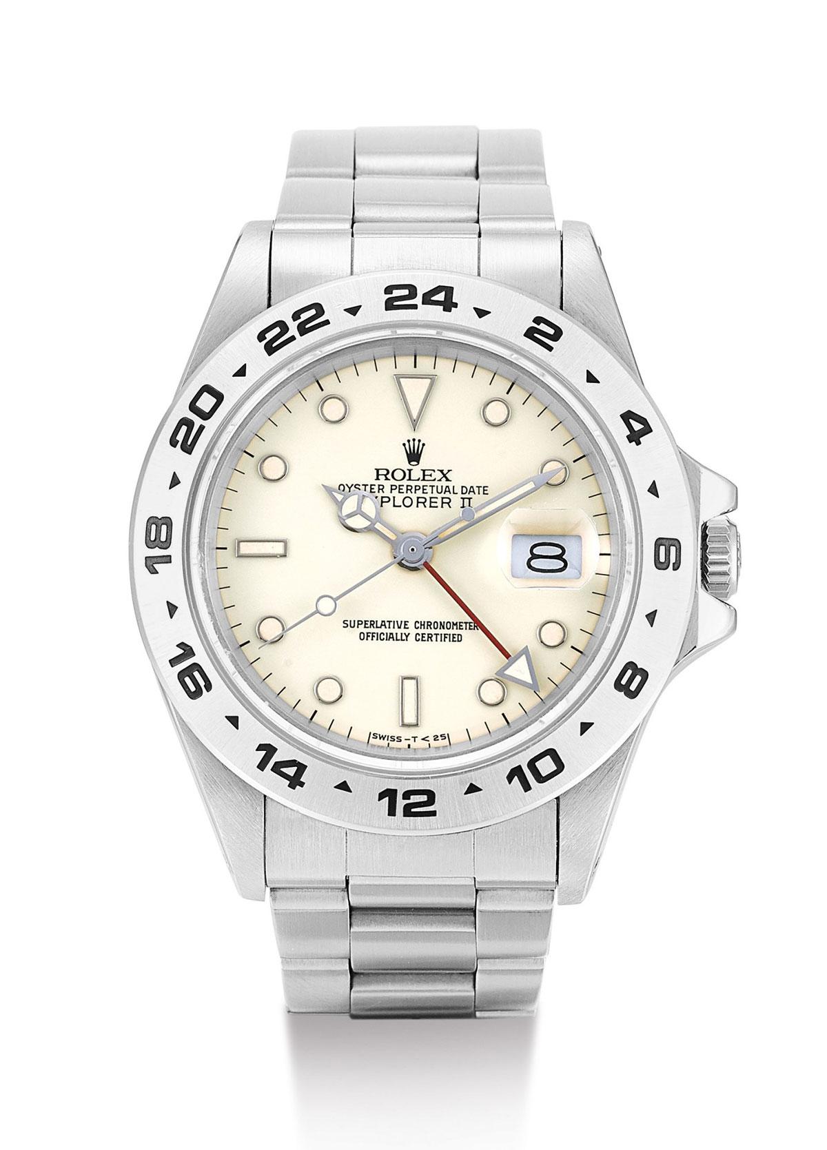El Rolex Explorer II 16550