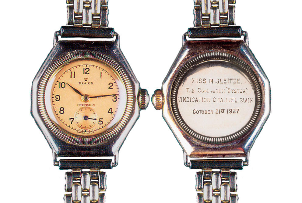 Rolex Oyster de Mercedes Gleitze