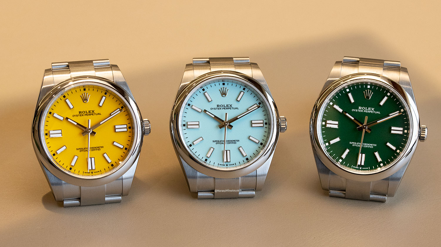 Rolex Oyster Perpetual 41 mm 2020 Referencia 124300