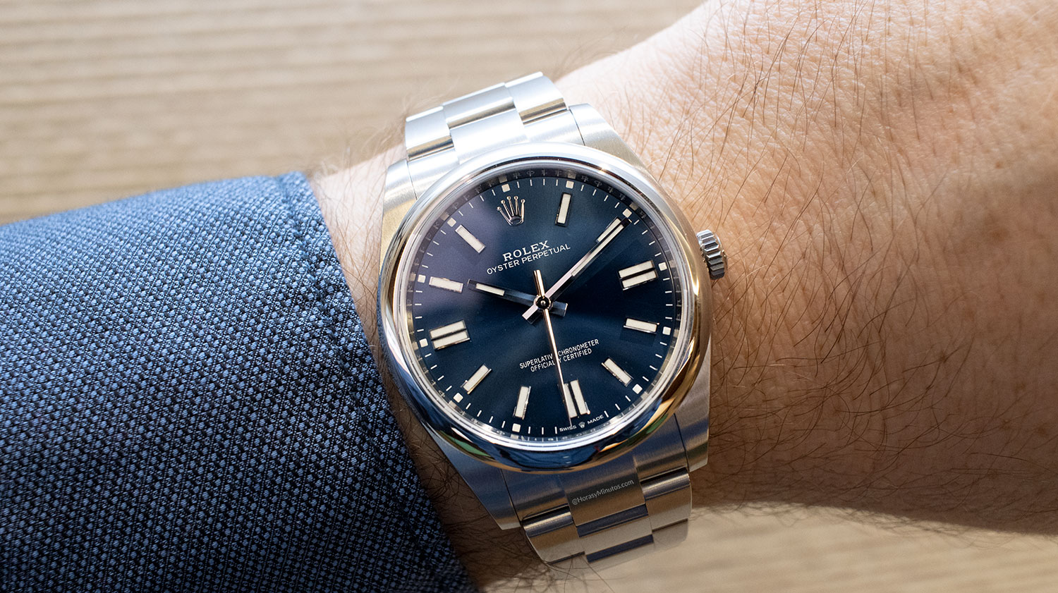 Rolex Oyster Perpetual 41 mm 2020 Referencia 124300, puesto