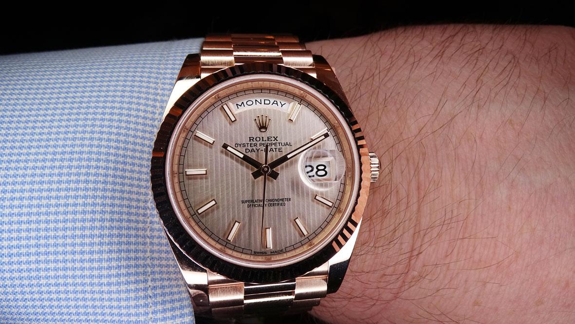 0255787605b Rolex no es precisamente la más apresurada de las manufacturas. Todos los  pasos que da son pequeños -pero firmes-