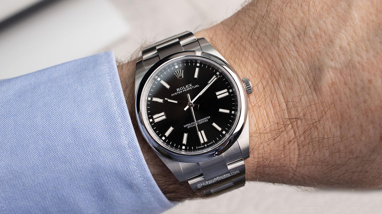 El Rolex Oyster Perpetual negro