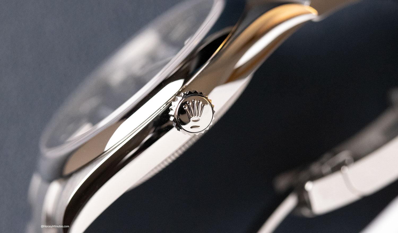 Perfil del Rolex Oyster Perpetual