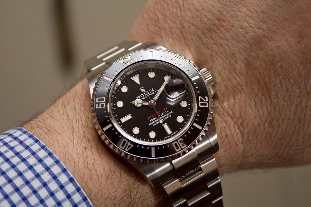 1807cd38eb89 En la feria de Baselworld 2017 hemos podido ver una reedición del Rolex  Sea-Dweller