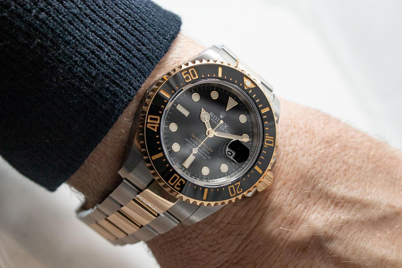 Así queda el Rolex Sea-Dweller Rolesor